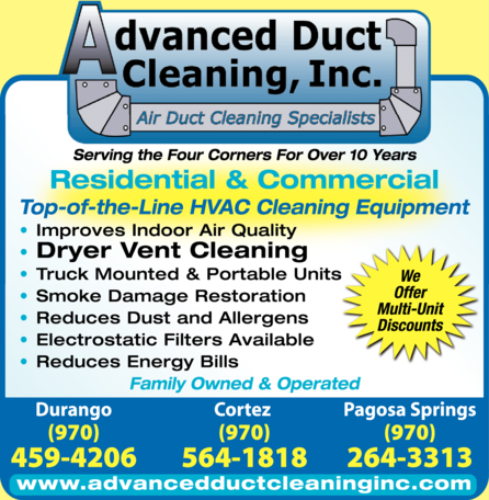 Advanced Duct Cleaning Inc
