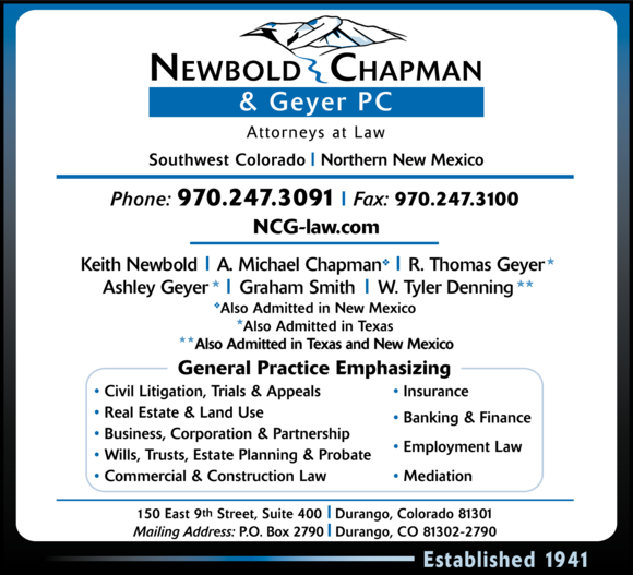 Newbold Chapman & Geyer PC