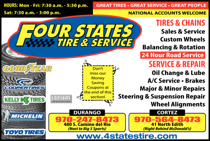 Four States Tire & Service Inc