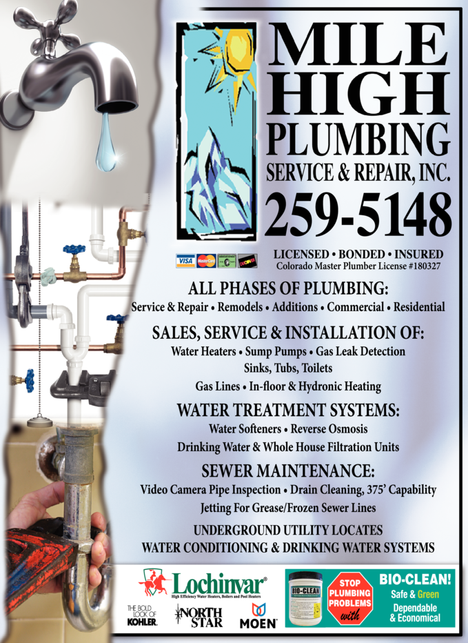 Mile High Plumbing Service & Repair Inc
