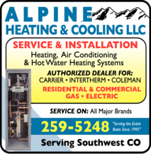 Alpine Heating & Cooling Inc