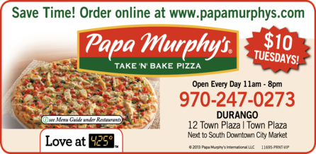 Papa Murphy's Take-N-Bake Pizza