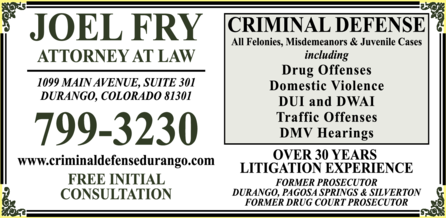 Fry Joel Attorney At Law