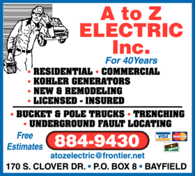 A To Z Electric Inc