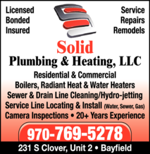 Solid Plumbing & Heating